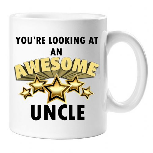 You're looking at an AWESOME UNCLE Novelty Gift Mug N38